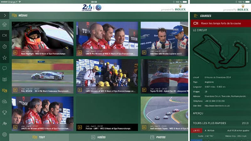 Illustration for article titled 24 Hours of Le Mans App Will Finally Stream The Entire Race Live