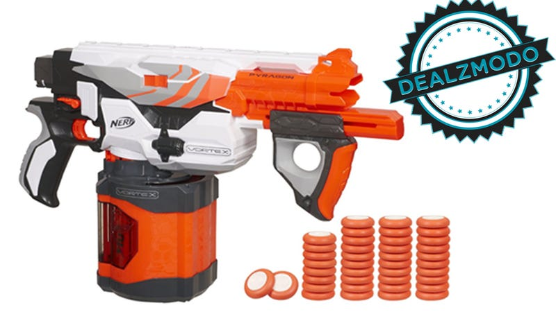 this range nerf gun is your deal of the day