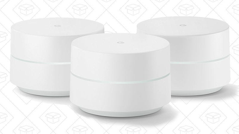 Pack de 3 Google Wifi, $280
