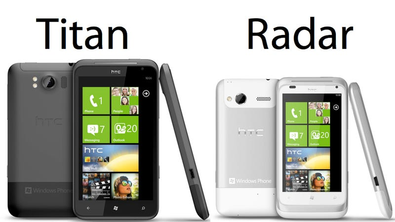 Illustration for article titled Hands On: HTC's Titan Is One Giant Windows Phone Sonofabitch