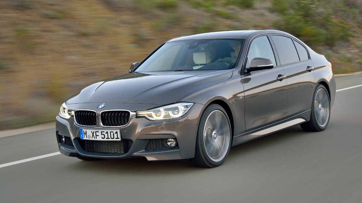 2015 bmw 3 series idrive