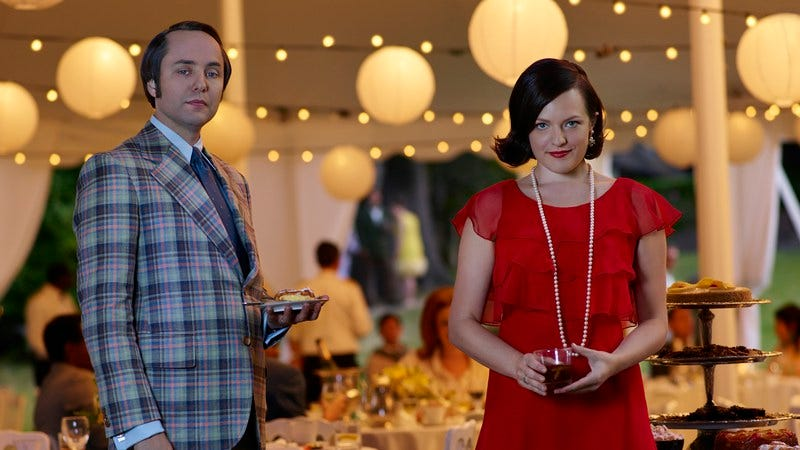Illustration for article titled The showdown of Peggy Olson vs. Pete Campbell