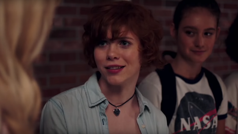 Sophia Lillis as Nancy Drew.