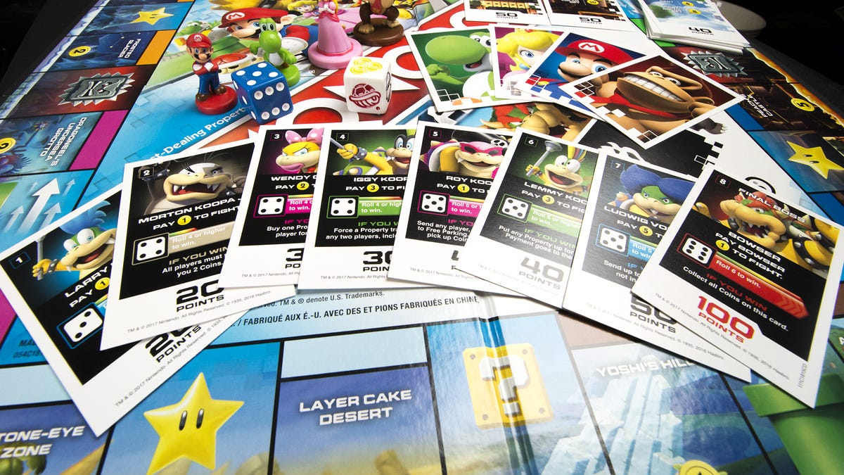 Mario Themed Monopoly Gamer Has Power Ups And Boss Battles