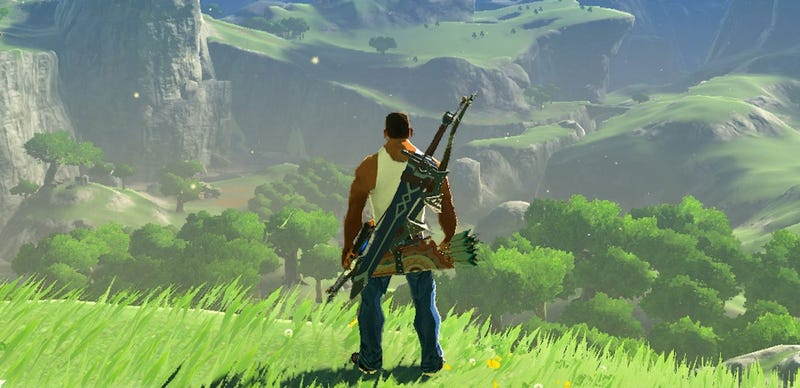 Mods Add GTA Minecraft Mario To Zelda Breath Of The Wild - Skins para minecraft zelda