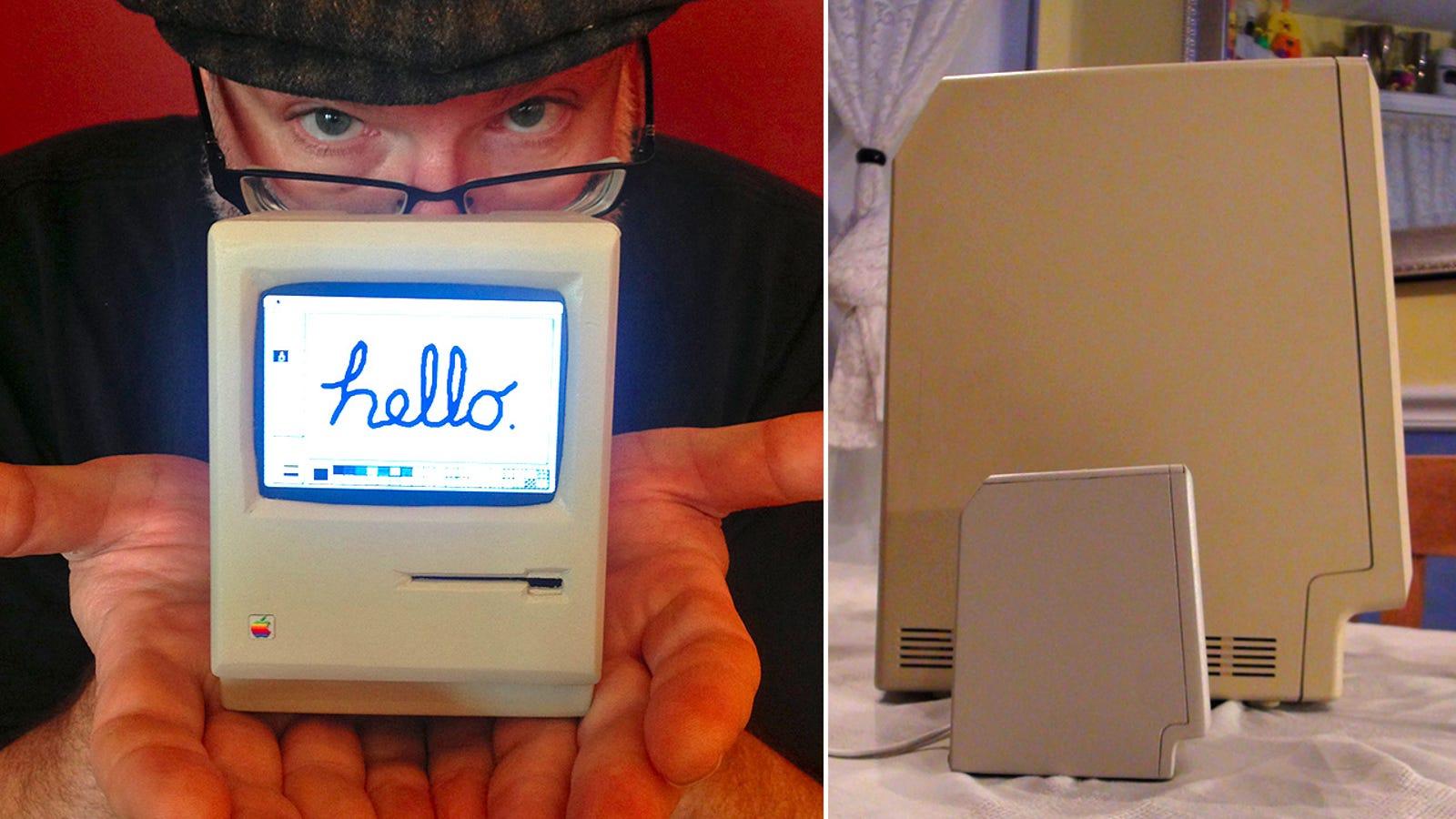 Este Macintosh es el más pequeño (y adorable) del mundo