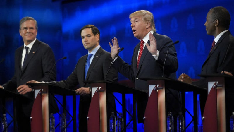 Illustration for article titled GOP Candidates Demand Debates Where They're Not Asked All Those Mean Questions
