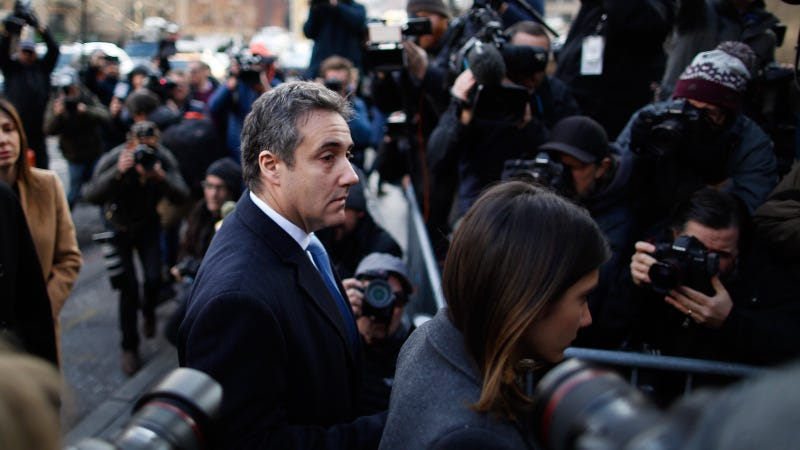Illustration for article titled Michael Cohen Sentenced to 3 Years in Prison