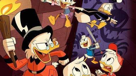 ducktales the last crash of the sunchaser reaction