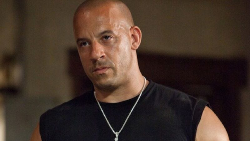 Illustration for article titled Vin Diesel pretty sure Fast Five has a shot at Best Picture