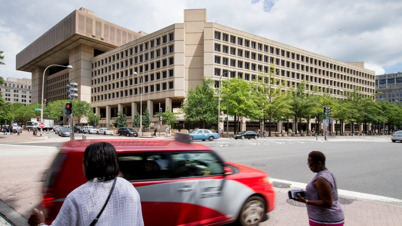 The FBI headquarters at the J. Edgar Hoover Building in Washington, DC, in August 2015.