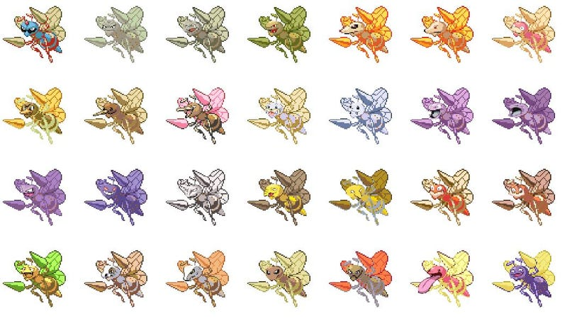 here s every single pokemon fusion possible