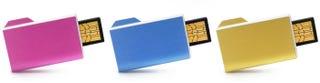 Illustration for article titled Art Lebedev's Folderix Finger Folder Flash Drive On Sale