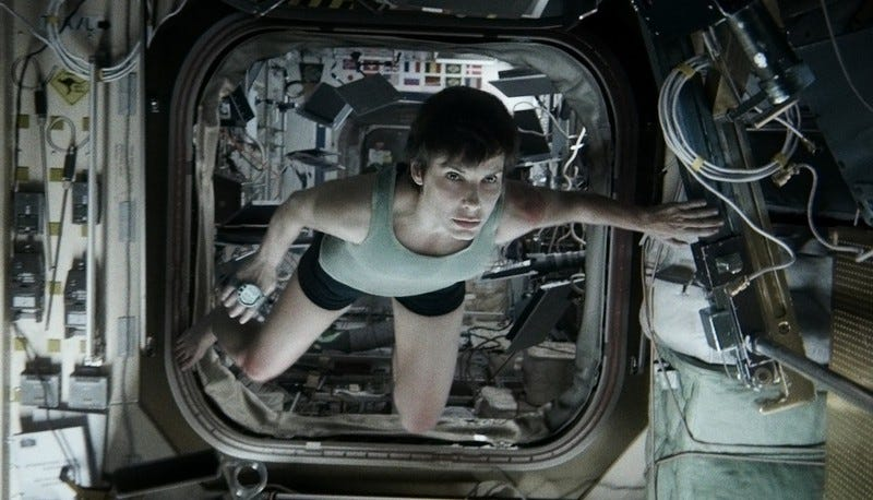 Illustration for article titled Gravity's ending holds a deeper meaning, says Alfonso Cuaron