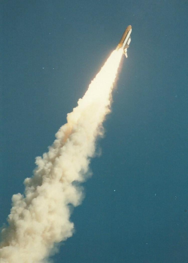 space shuttle challenger mission people - photo #19
