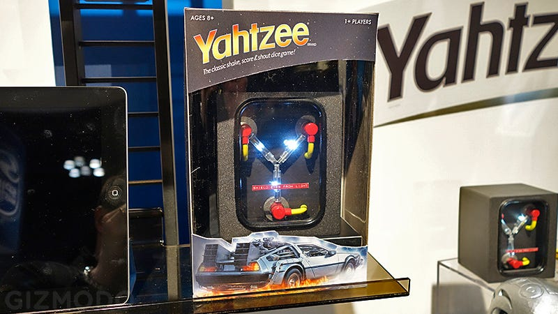 Illustration for article titled No One Asked For a Flux Capacitor Version of Yahtzee, But We'll Take It