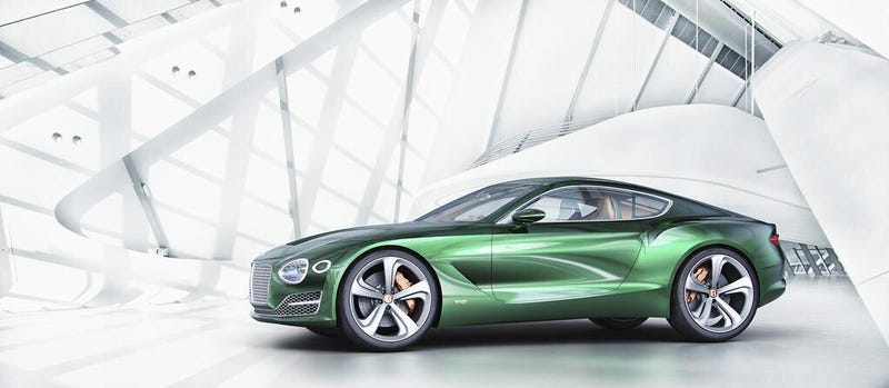 Illustration for article titled This Is TheBentley EXP 10 Speed 6 Concept Car, A Baby Continental GT