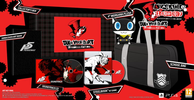 Illustration for article titled Persona 5 Will Be Release On Feb 14, 2017 In Europe