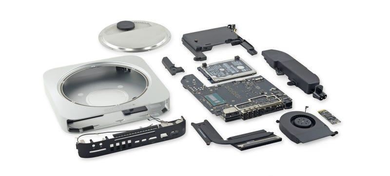 Illustration for article titled Mac Mini 2014 Teardown: Minor Tweaks and Major Upgrade Headaches