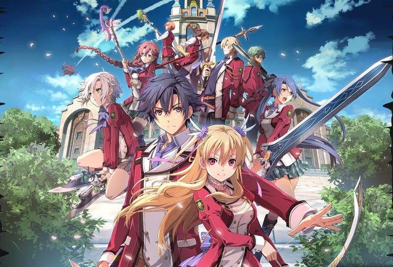 Illustration for article titled The Legend of Heroes: Trails of Cold Steel Launches on December 22nd