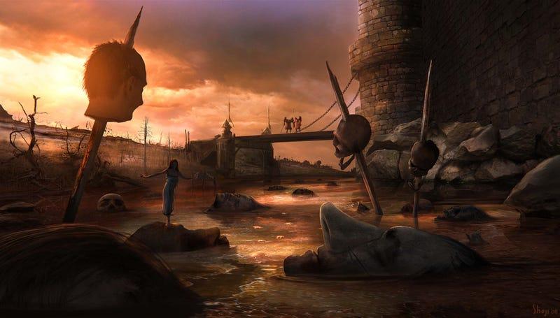 Illustration for article titled Meet Craig Shoji, artist of forbidden worlds