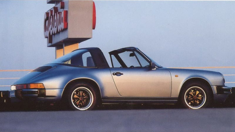 What Porsche was working with at the time. From Porsche's 1984 brochure, via the wonderful OldCarManualProject