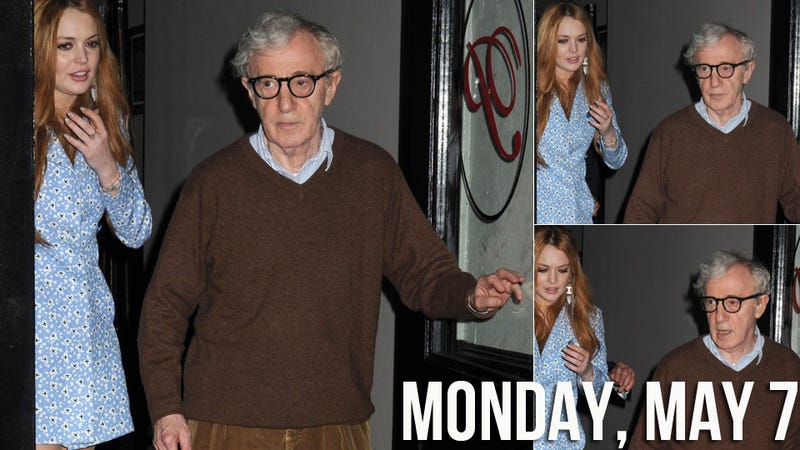 Illustration for article titled Can Woody Allen Save Lindsay Lohan's Career?