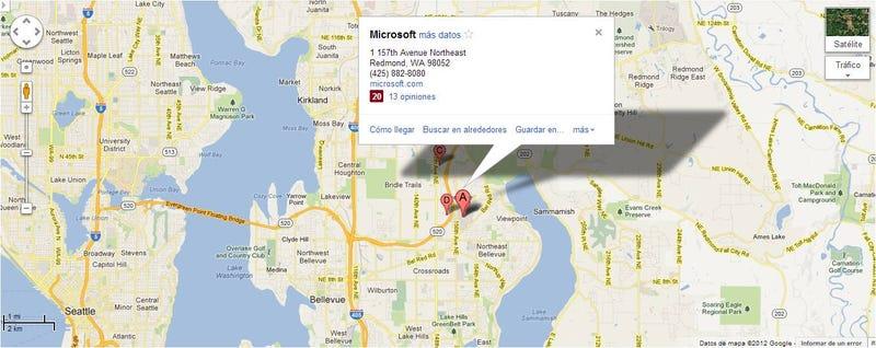 Illustration for article titled Google Vs. Microsoft, 2º asalto: Google corta el acceso a sus Mapas en Windows Phone