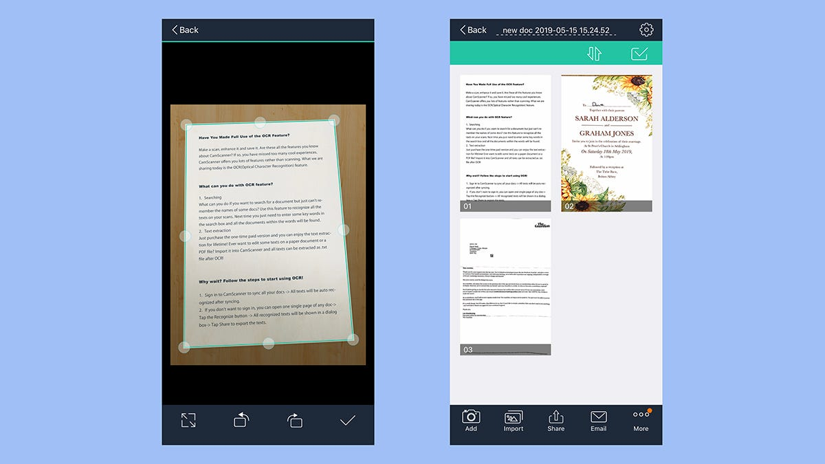 Android Document Scanner Library