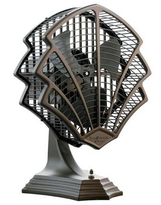 Illustration for article titled Fitzgerald Art Deco Fan Convinces Us to Ditch Central Air