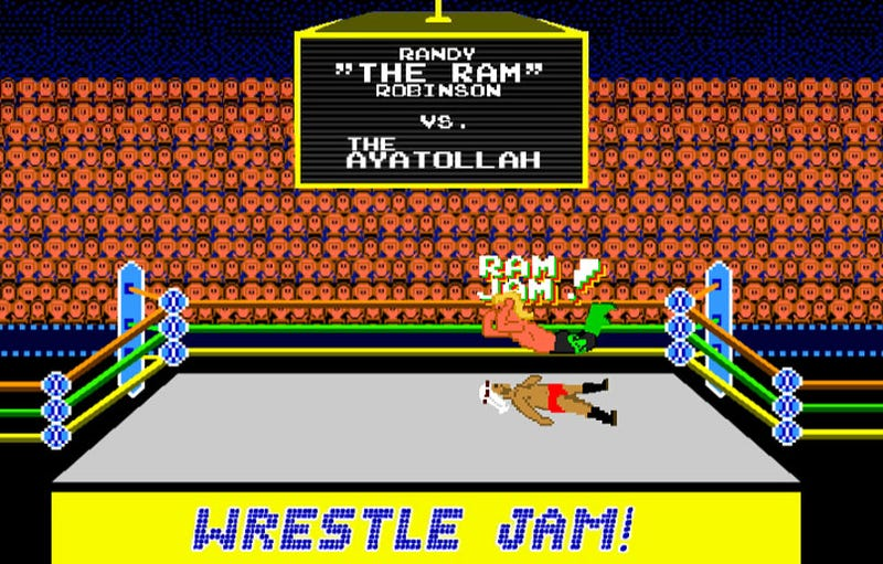 Illustration for article titled The Making Of Wrestle Jam: The Wrestler's Unsung Hero