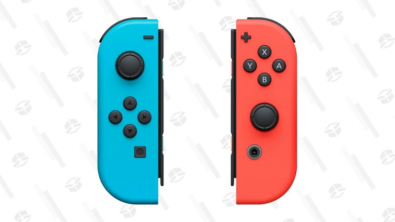Nintendo Switch Joy-Con Pair (L/R), Neon Red and Neon Blue | $67 | Amazon | Also at Walmart