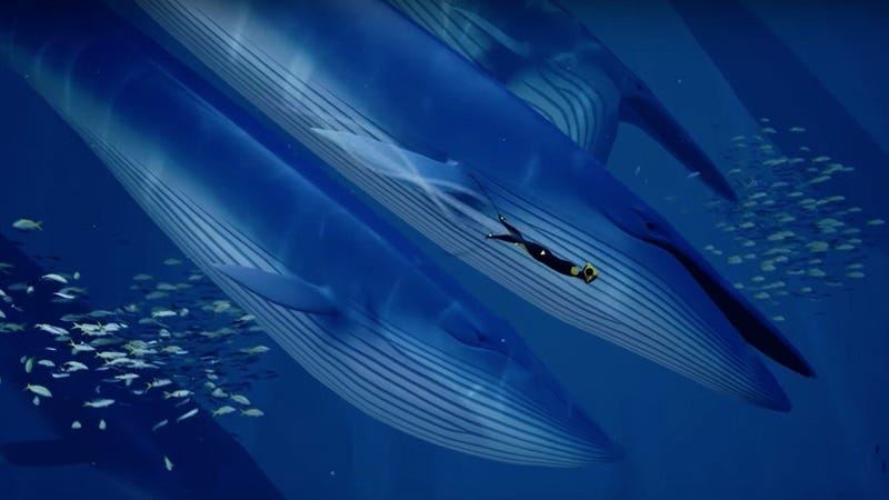 Illustration for article titled The Beautiful Exploration Game Abzu Flew Under The Radar At E3