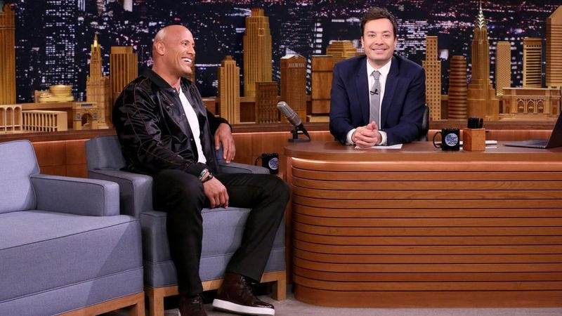 Dwayne Johnson, Jimmy Fallon (Photo: Andrew Lipovsky/NBC)