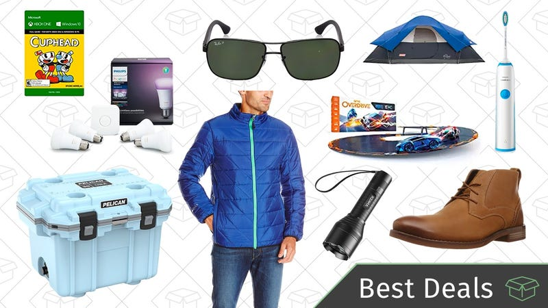 Illustration for article titled Friday's Best Deals: Winter Gear, Philips Hue Starter Kit, Pelican Coolers, and More