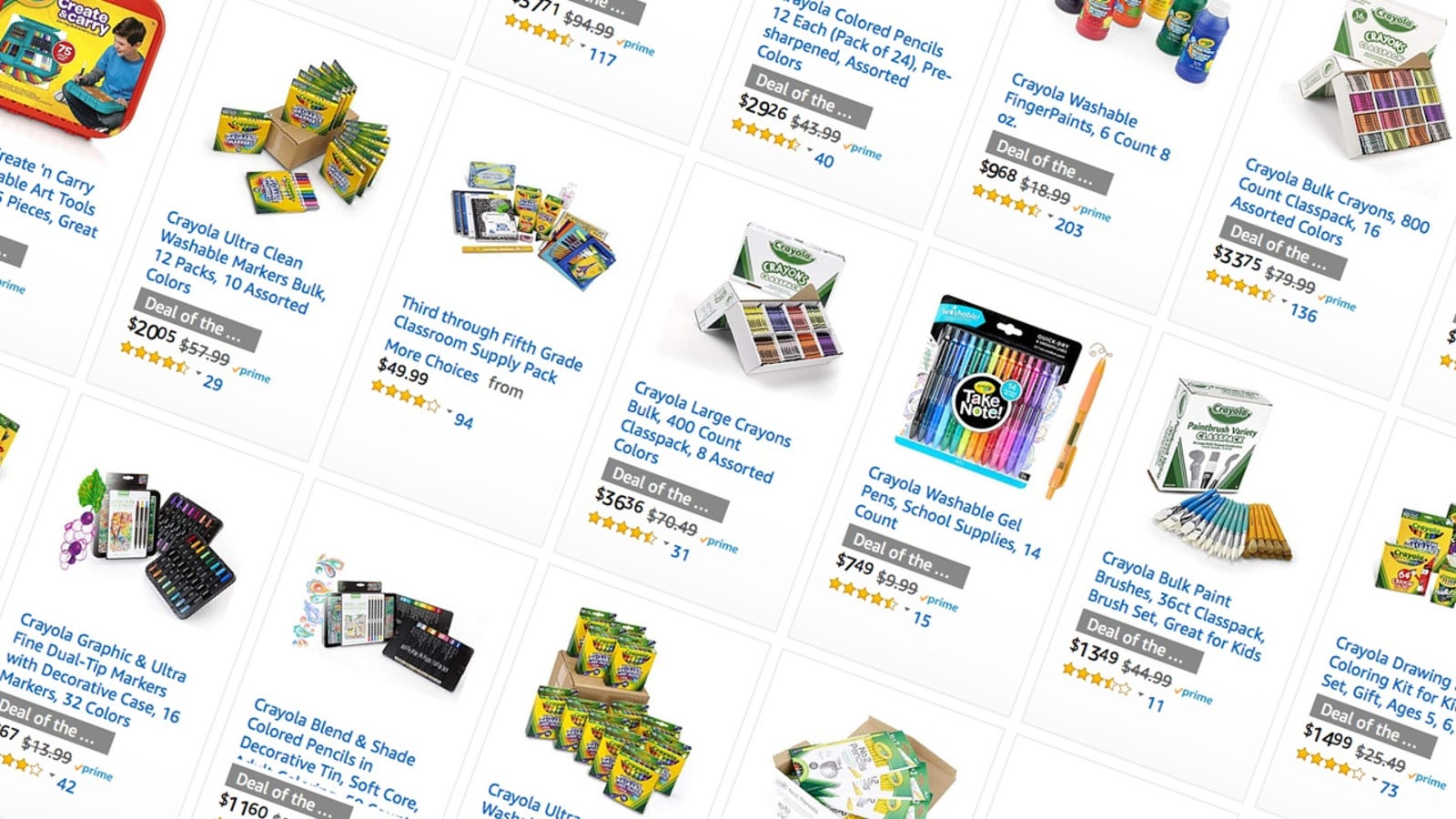 Amazons running a massive one day crayola sale including class amazons running a massive one day crayola sale including class packs you can donate to a school solutioingenieria Gallery
