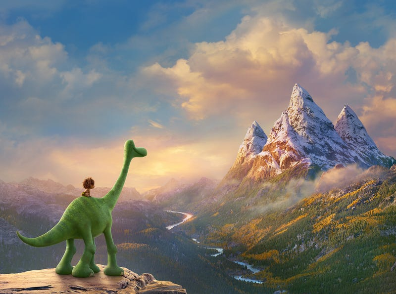 Illustration for article titled How Pixar Changed All The Rules To Make The Good Dinosaur A Stunning Masterpiece