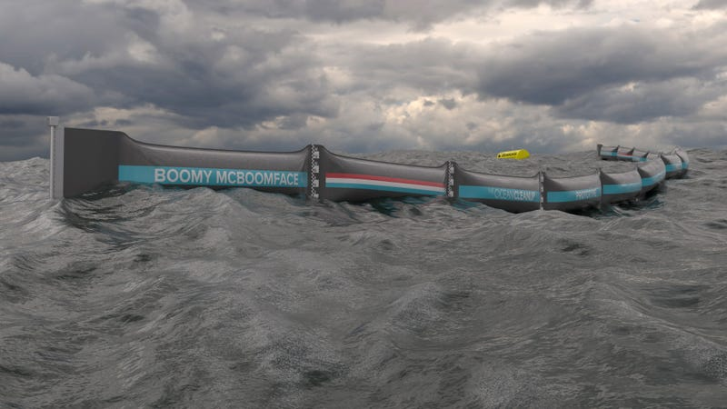 Image: The Ocean Cleanup