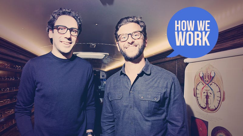 Illustration for article titled We Are Dave Gilboa and Neil Blumenthal, Founders of Warby Parker, and This Is How We Work