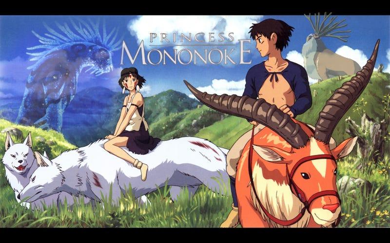 Illustration for article titled AniTAY Movie Night - Summer of Ghibli's Final Movie! - Princess Mononoke! - Tonight!