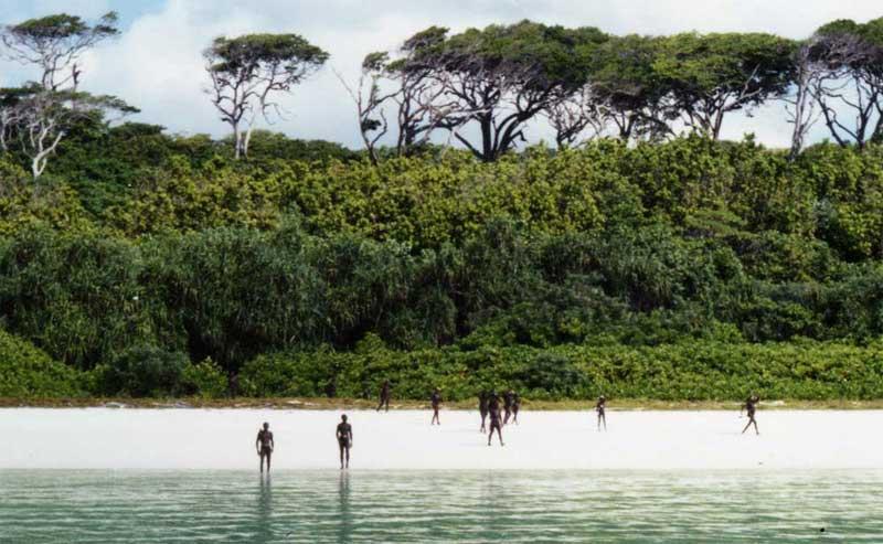 Illustration for article titled Entra en una isla prohibida donde se sabe que atacan a los extraños según los ven. Lo matan
