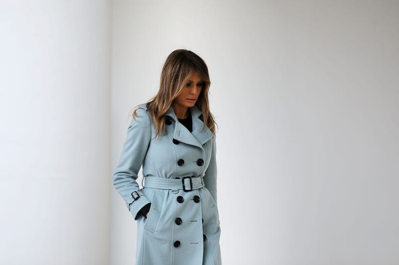 Illustration for article titled Not Only Did Melania Trump's Team Bite the Obama Playbook, but They Also Got Mad When the Media Pointed It Out
