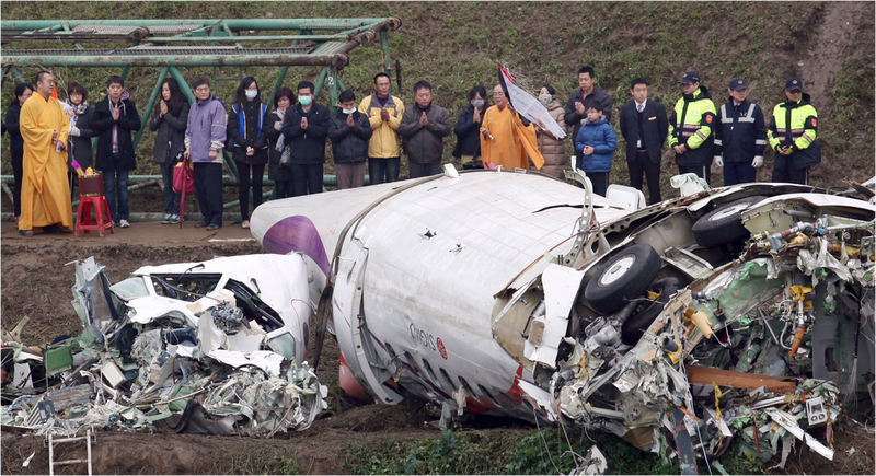 Illustration for article titled El avión de TransAsia se quedó sin los dos motores antes del accidente