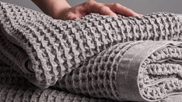 Treat Yourself to Onsen s Ultra-Soft Waffle Weave Towels For 15% Off