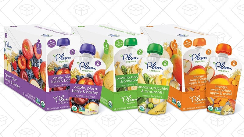 30% off Plum Organics Baby Food