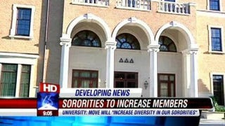 University of Alabama student leaders fail to pass measure to integrate Greek systemYouTube screenshot