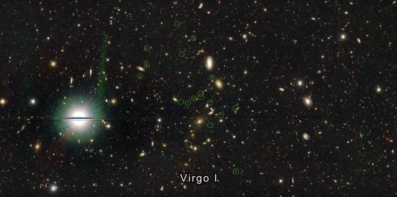 Illustration for article titled Encuentran una galaxia vecina tan oscura que había pasado desapercibida hasta ahora