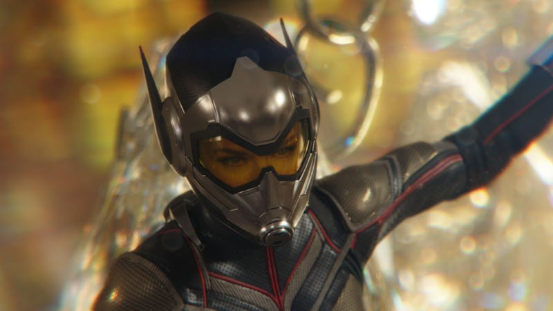 The Wasp first appeared in Ant-Man and the Wasp, but now we have some concept art of how she might have looked in an earlier movie.