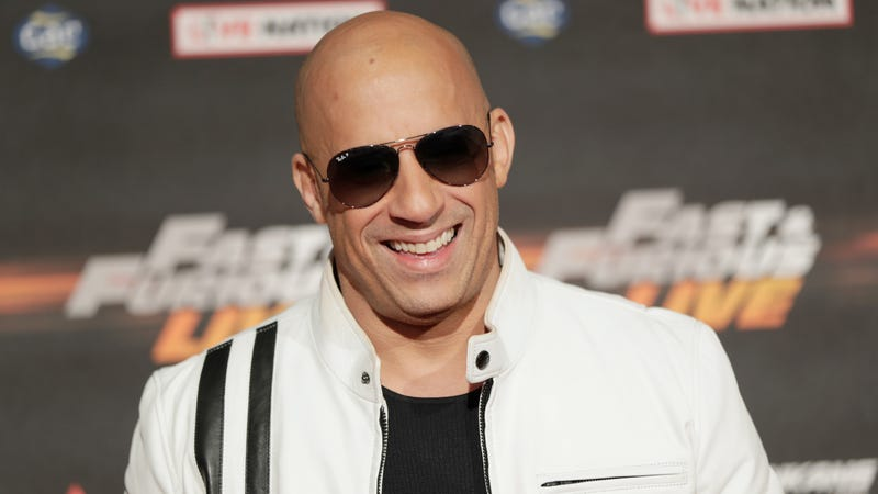 "Vin Diesel at the ""Fast and Furious Live"" premiere."
