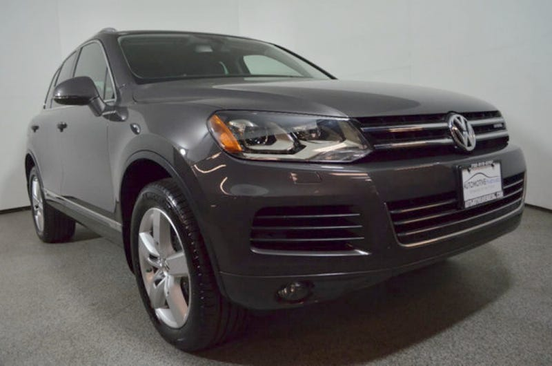 For 17 995 Would You Make Hy Memories In This 2017 Vw Touareg Hybrid